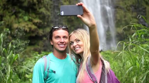 Young Happy Couple Taking Selfie