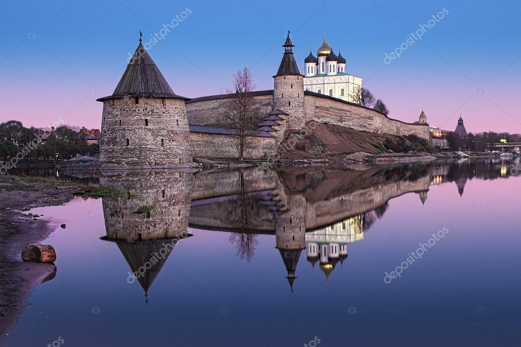 Pskov postcard