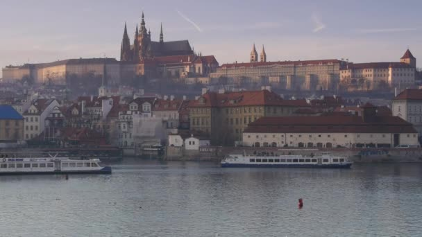 pohled na Karlův most a svatého Víta - Pražský hrad