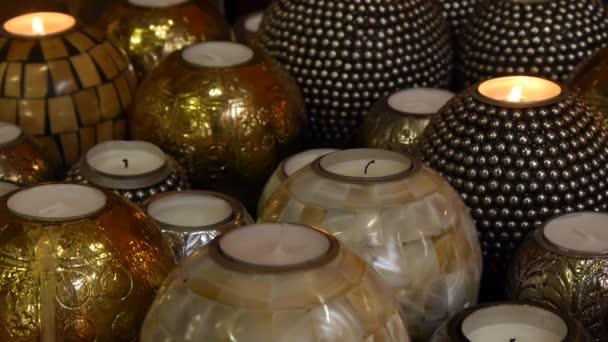 dekorativní a relaxační svíčky