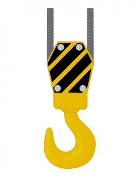 Crane hook.