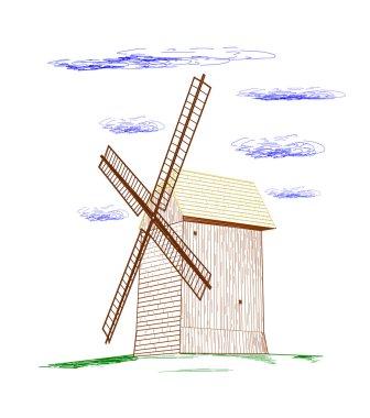 Rural windmill.