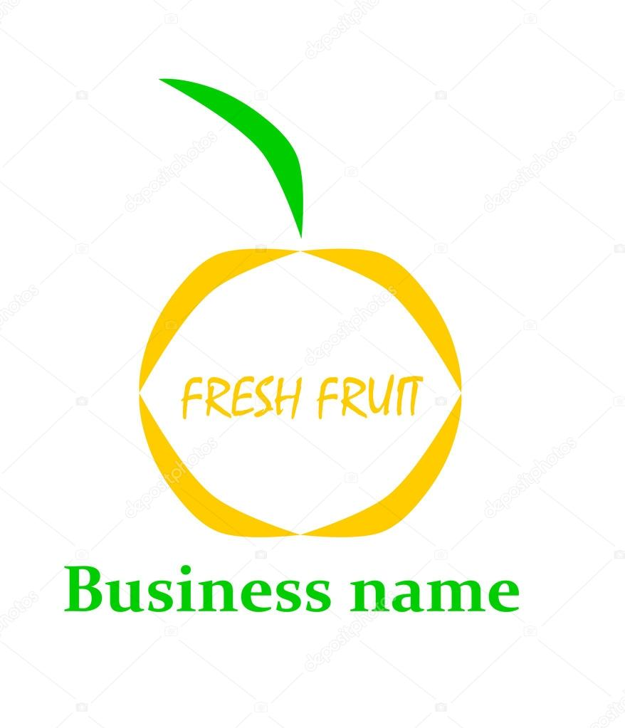 Fruit logo.