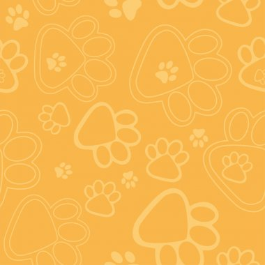 Paw Prints Background miv