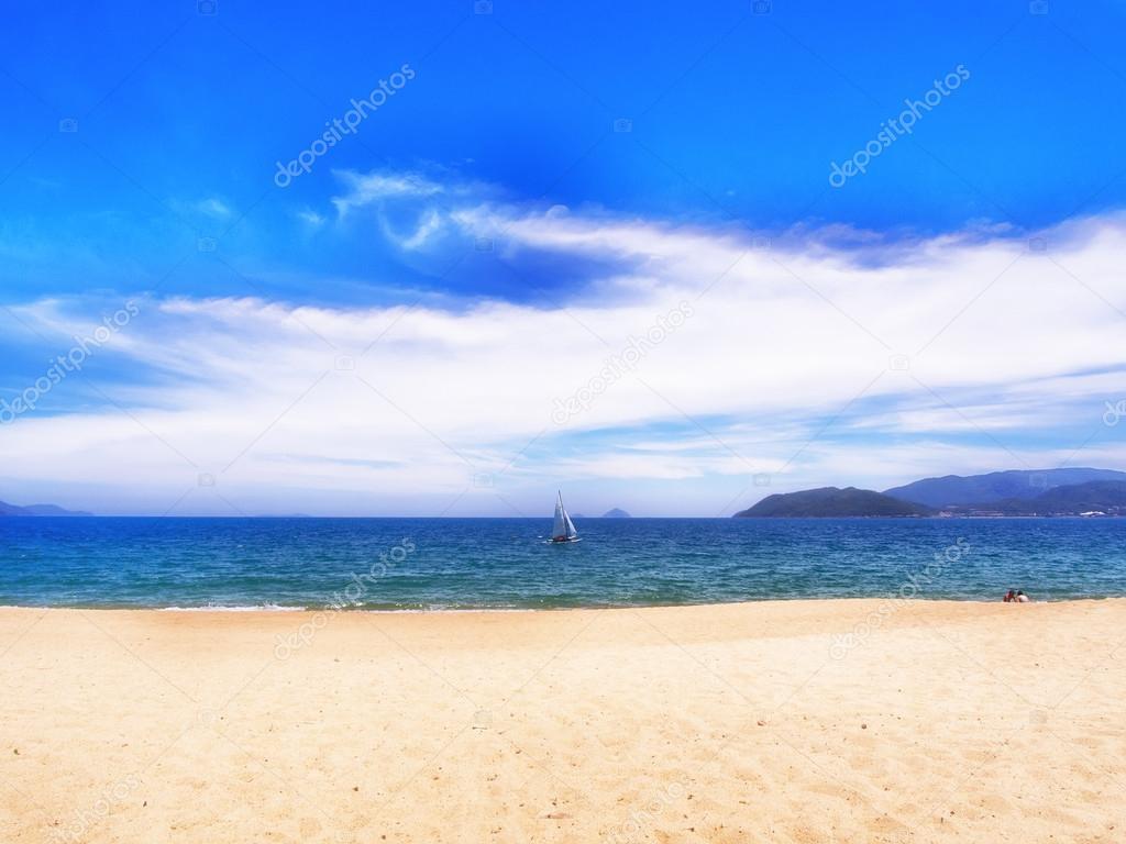 Nhatrang beach — Stock Photo © basnik_bna #28713501