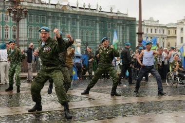 Russia. Day of airborne forces 02.08.13.