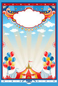 Fotografie Circus tent background