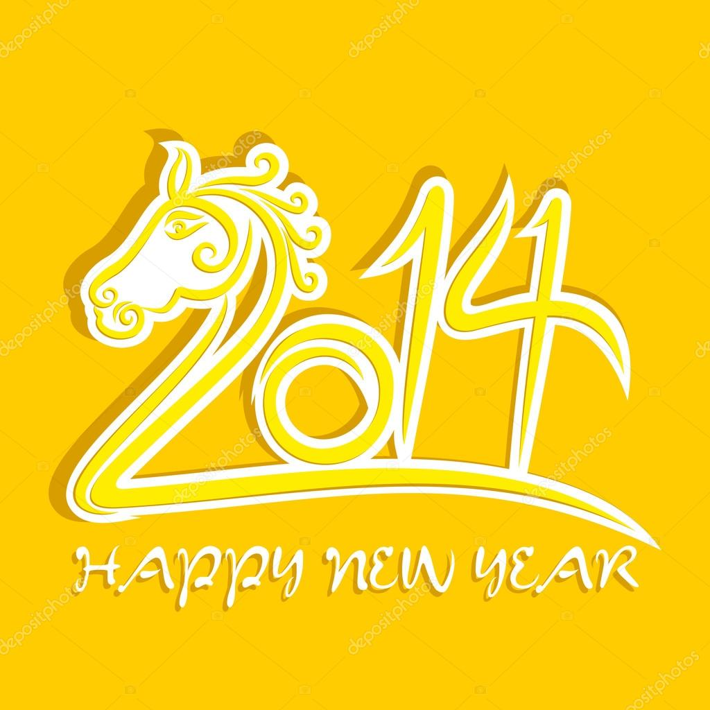 Happy new year 2014 greeting background vector stock vector happy new year 2014 greeting background vector stock vector m4hsunfo