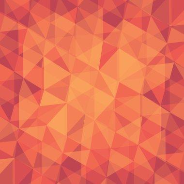 Creative retro triangle pattern background