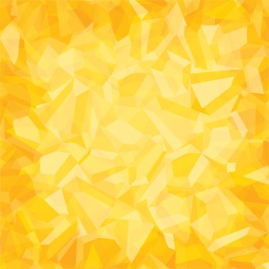 Creative random  triangular pattern yellow background