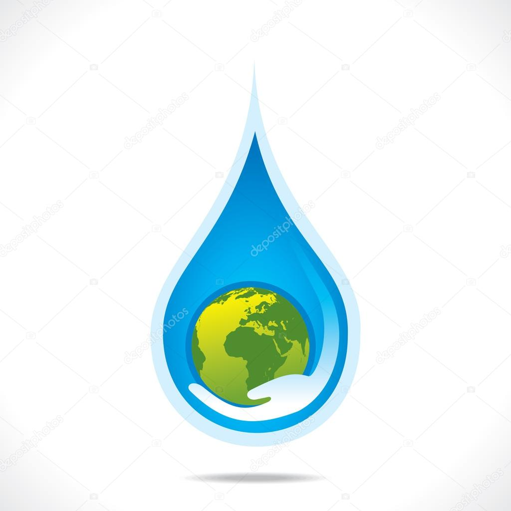 Save earth or save water in hand