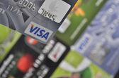 Fényképek hitelkártyák háttér