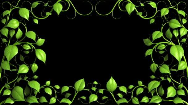 vzor zelená rostlina roste v hd.