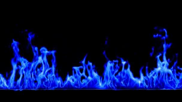kék tűz hd 1080, loopable, alfa