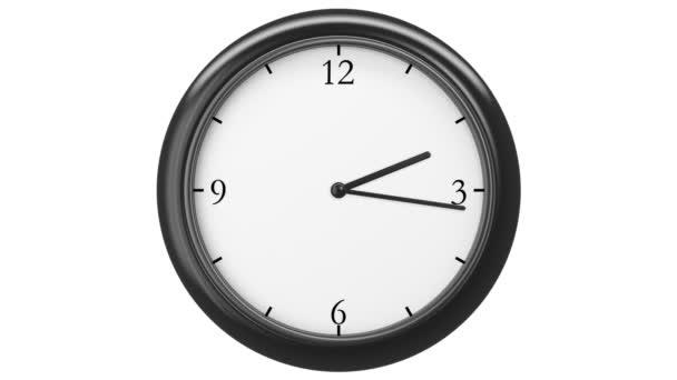 hodiny s dvanácti hodin časová prodleva, hd 1080, tvořili animace.
