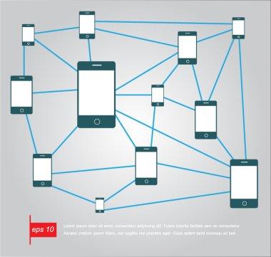 Phone network  icon