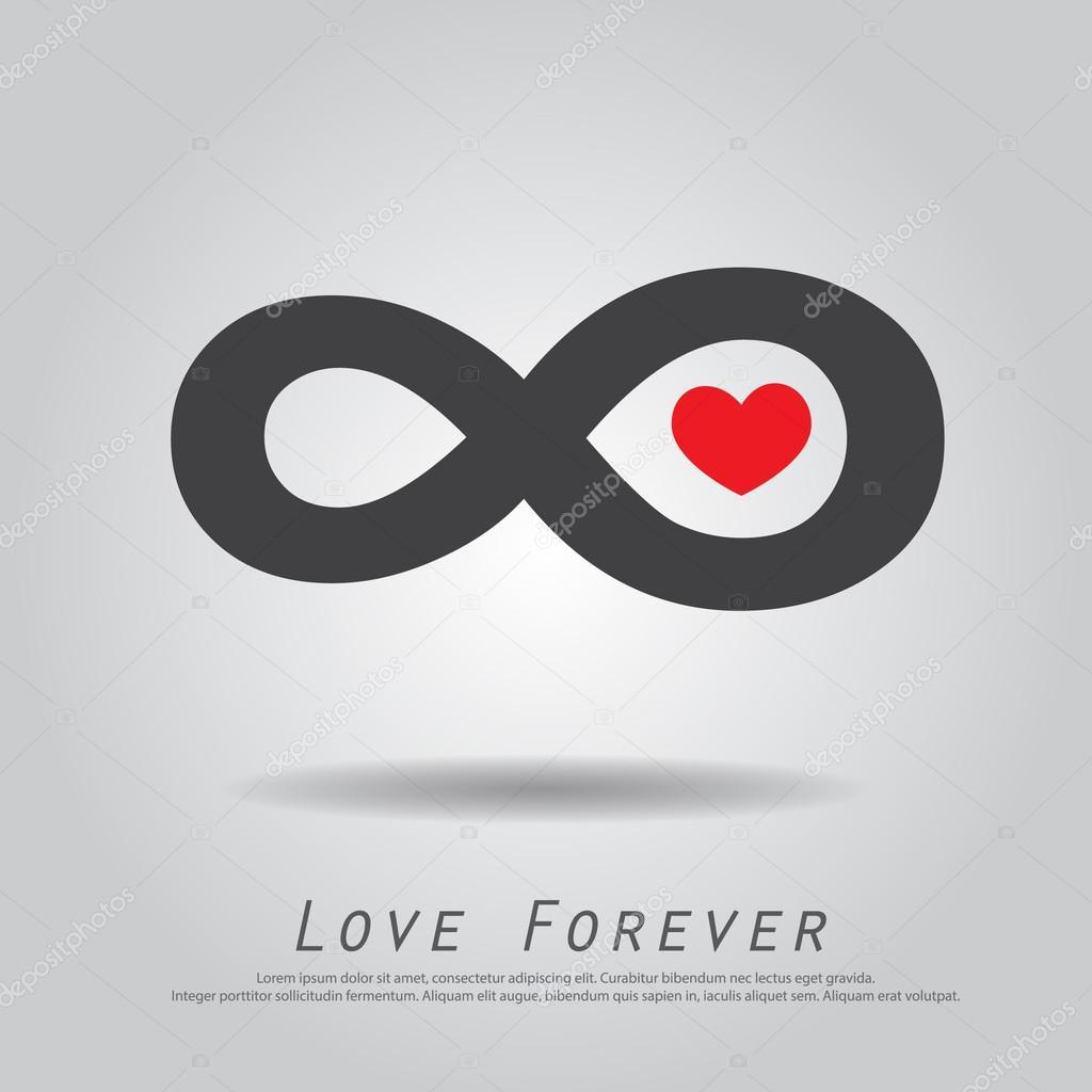 Infinity symbol love stock vectors royalty free infinity symbol infinity heart love vector icon vector graphics biocorpaavc Images