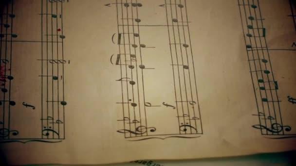 sangue e note musicali