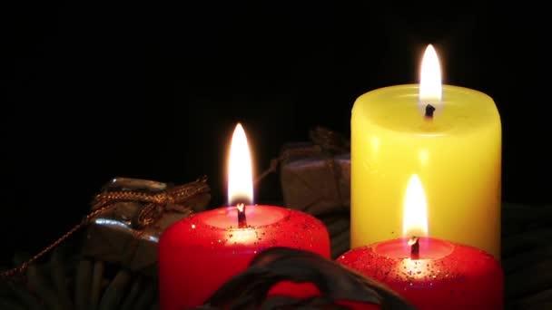 svíčky a dárkové krabice