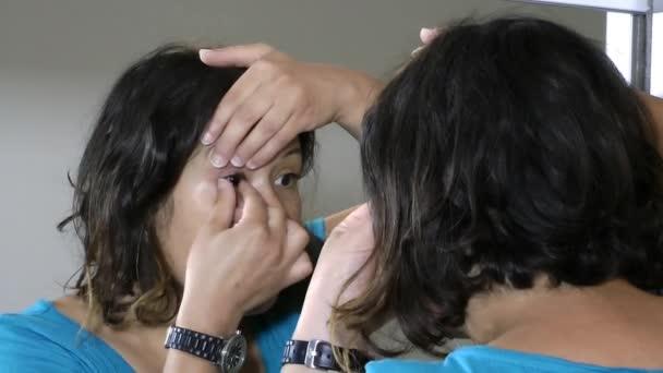 skleněné oční protézy