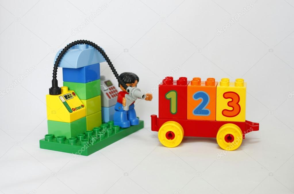 Lego Duplo developing Designer children's development – Stock