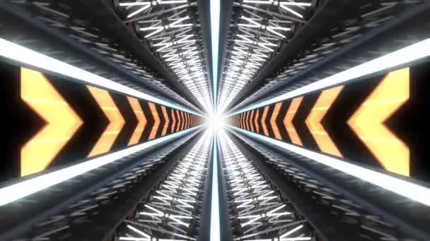 Tech Tunnel Background Animation Loops