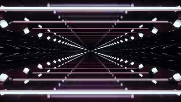 Tech Tunnel Hintergrund Animation Schleifen