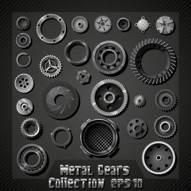 Vector metal gears collection