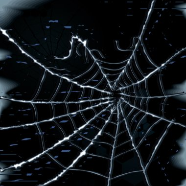 Abstract spider web vector background clip art vector
