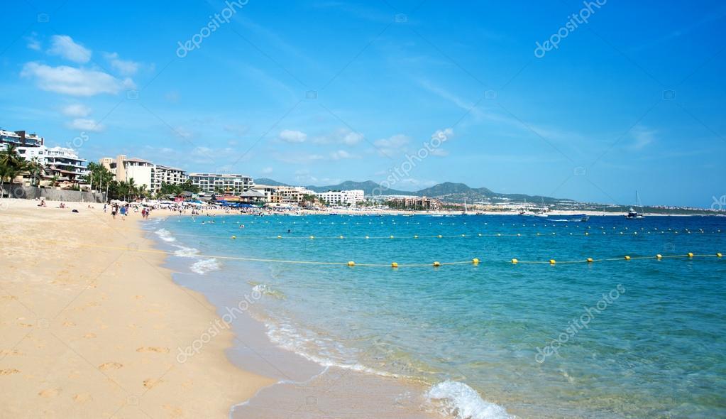 Sunny Beach Near Cabo San Lucas