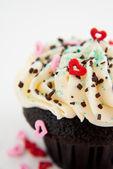 Fényképek Csokoládé Cupcake vanília jegesedés