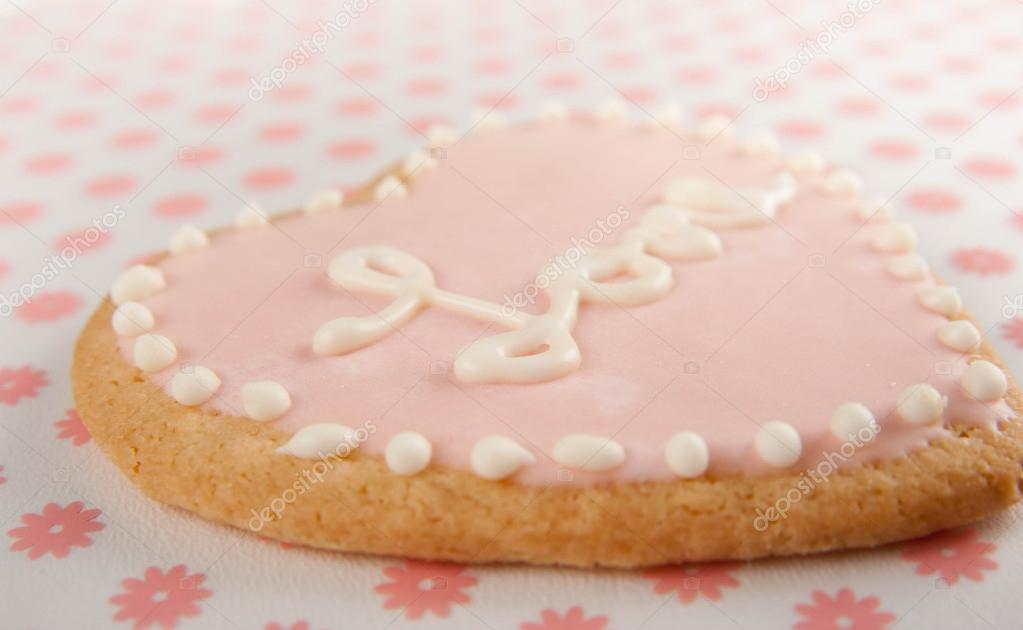 Cute Valentine S Day Cookie Stock Photo C Annahoychuk 29076061