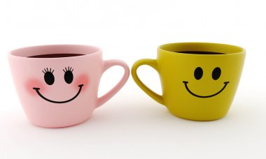 Funny cup - smiles