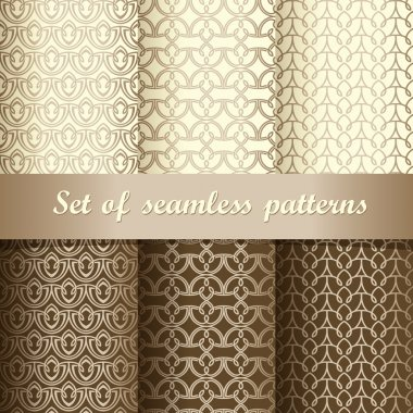 Set of seamless patterns 1