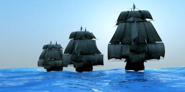 Ships in Sail