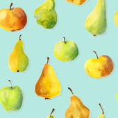 bezešvé vzor s ovocem