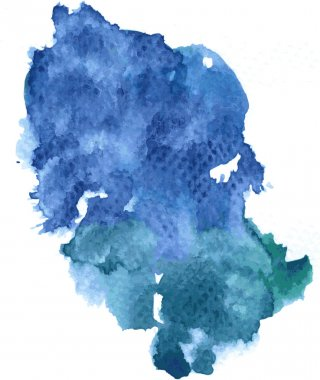 Watercolor stain background