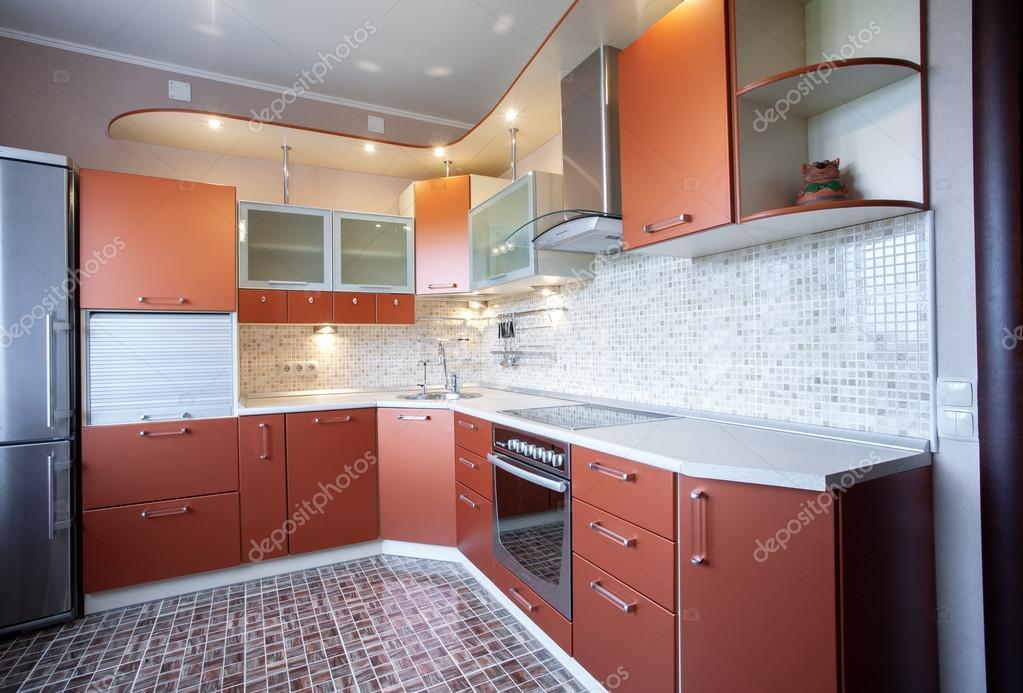Afbeeldingen Design Keukens : Moderne design keuken u2014 stockfoto © photollurg2 #38147527