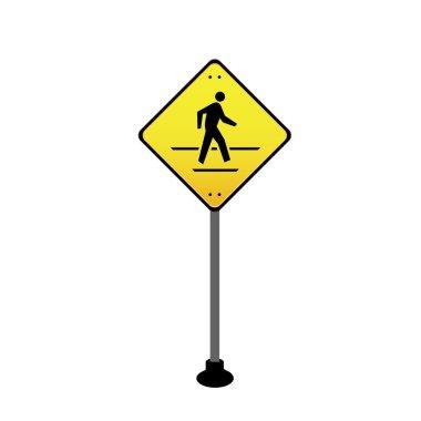Sign across