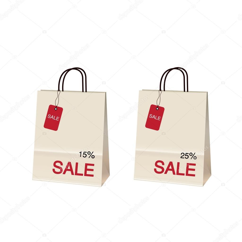 5777466ca Venda de bolsa — Vetores de Stock © tackgalich #29095343
