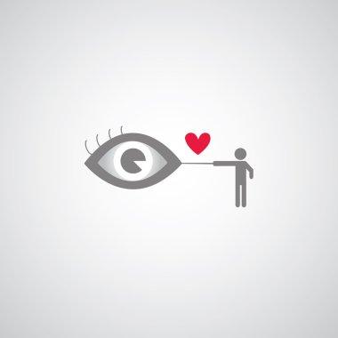 Blind men symbol