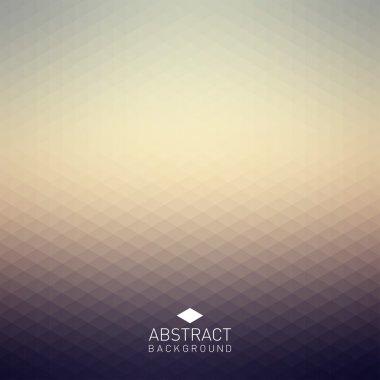 """Картина, постер, плакат, фотообои """"абстрактный треугольный фон """", артикул 48106577"""