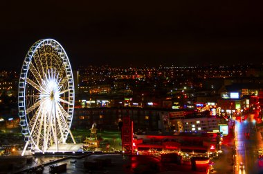 Clifton Hill at night  in Ontario, Canada