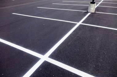 Parking Lot Painted Lines