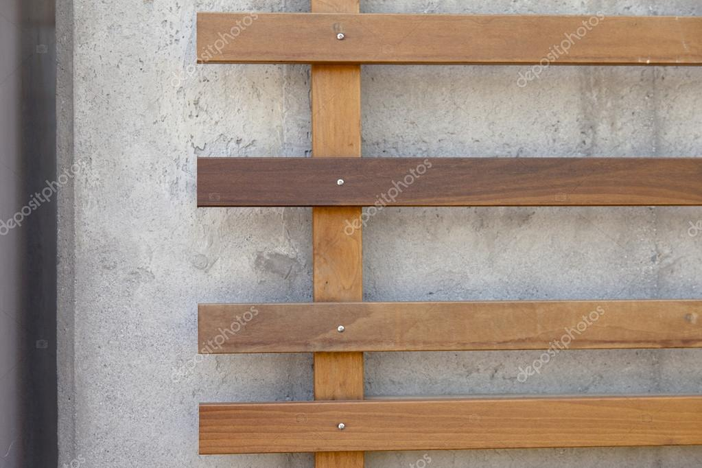 Hout En Beton : Hout beton schutting met planks tuinscherm incl plaatsen