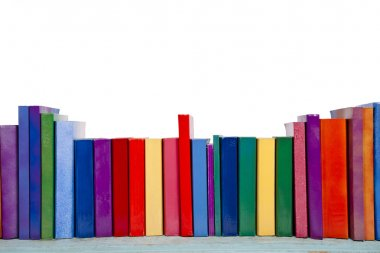 Colorful Book Background