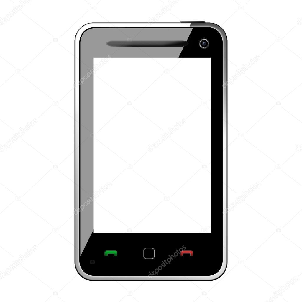 marco de teléfono celular — Fotos de Stock © somchaij #31427019