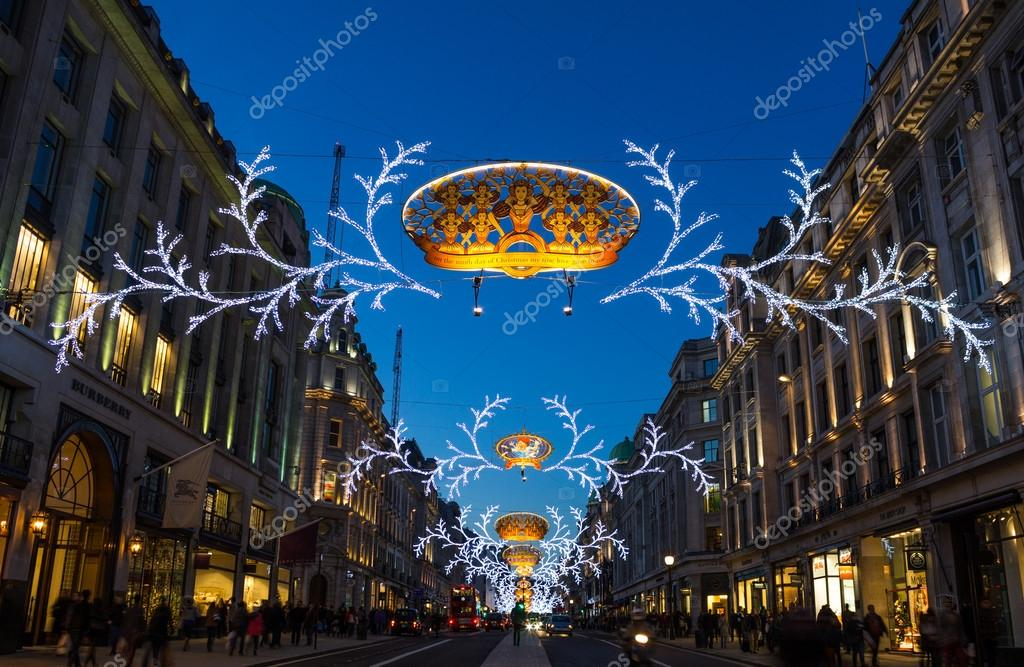 Regent Street Christmas lights 2013