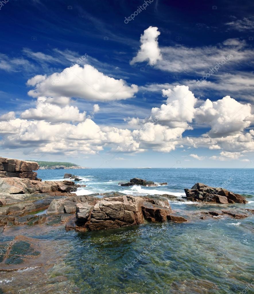 The Acadia National Park Maine Coast USA