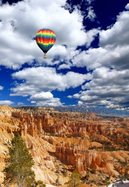 The landscape of The Bryce Canyon